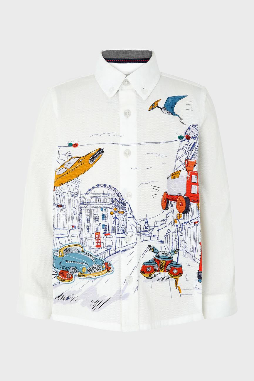 Детская белая рубашка SPACE LONDON SHIRT