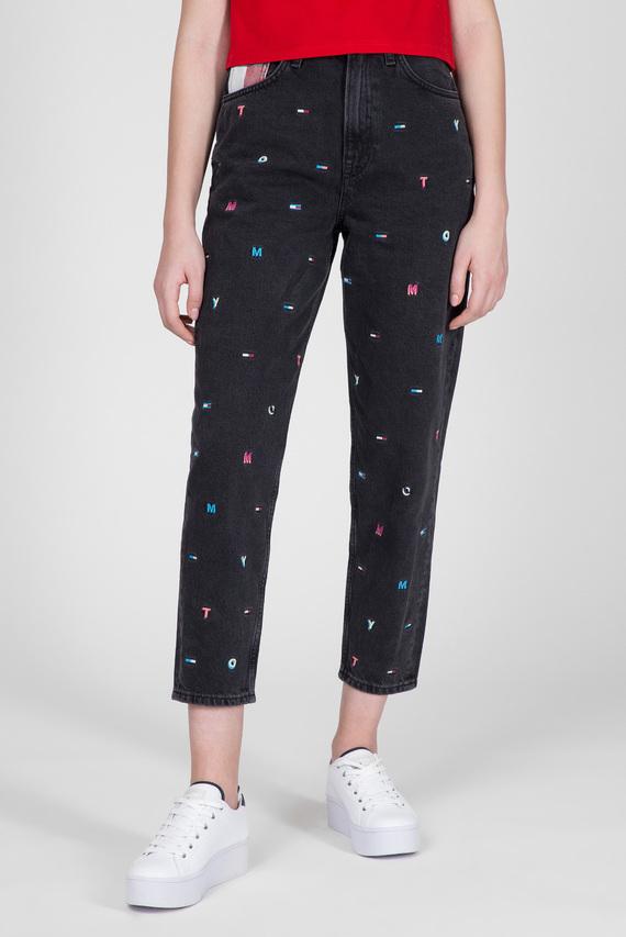 Женские черные джинсы MOM JEAN HR TAPERED SVCRB