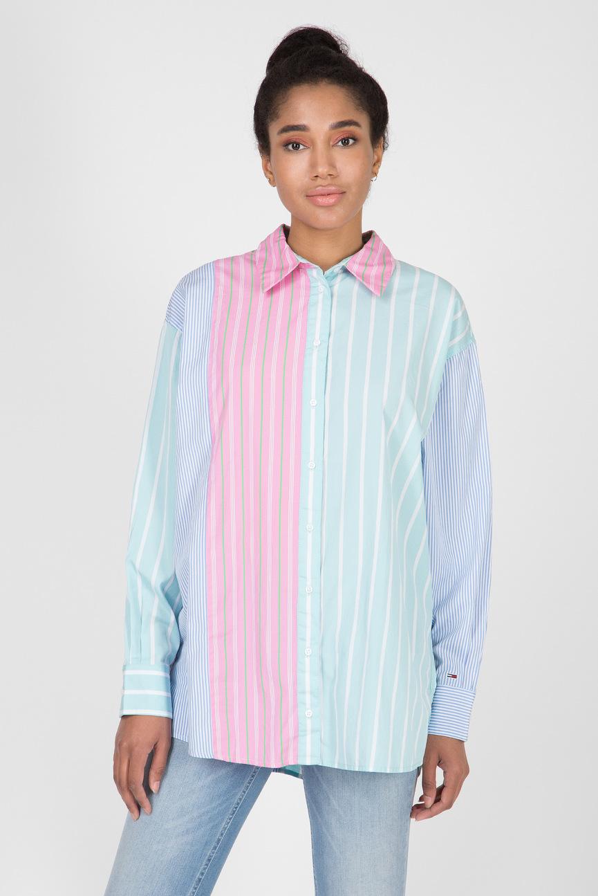 Женская рубашка в полоску TJW MULTICOLOR STRIPE