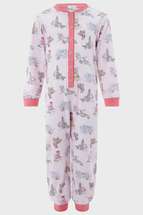 Детская розовая пижама