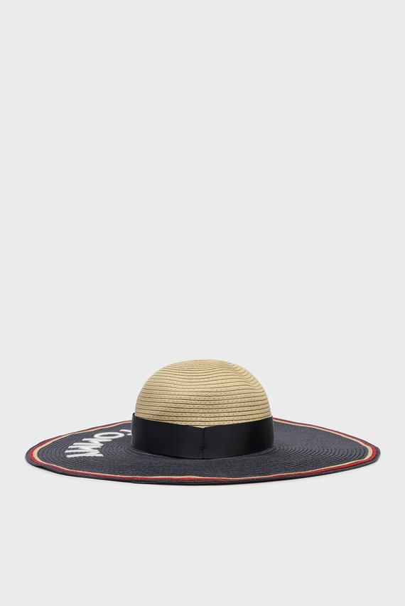 Женская плетеная шляпа STRAW