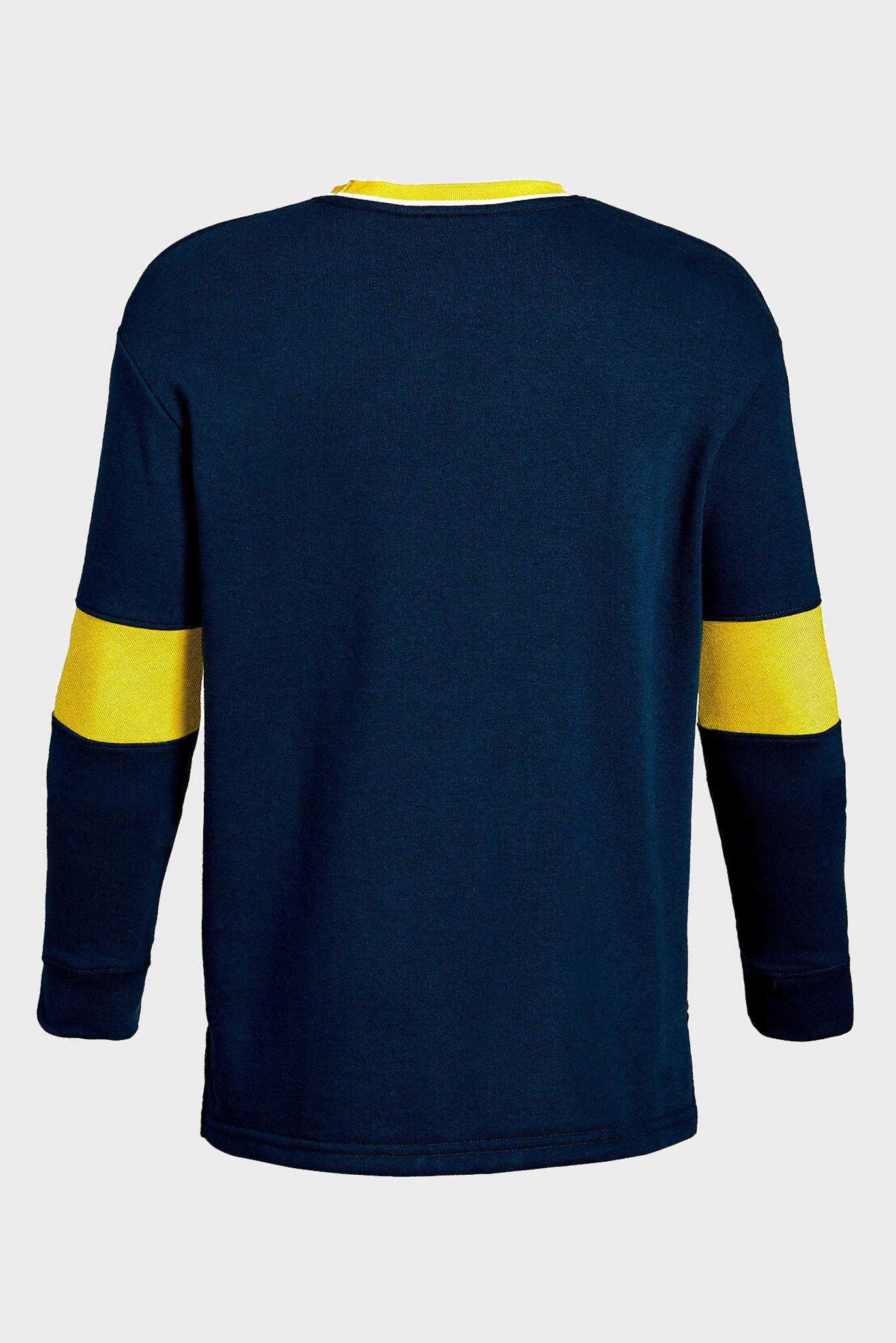 Купить Детский темно-синий свитшот Rival Terry Crew Under Armour Under Armour 1333035-408 – Киев, Украина. Цены в интернет магазине MD Fashion