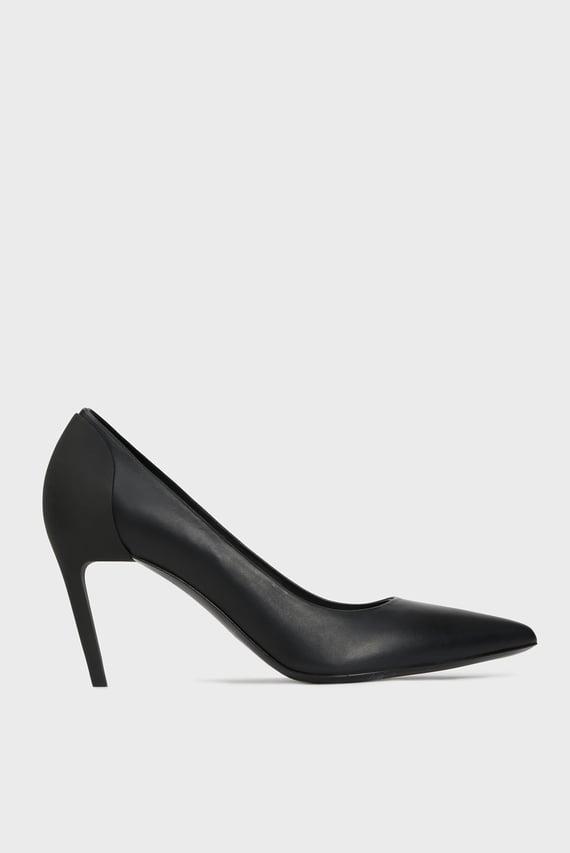 Женские черные кожаные лодочки SLANTY / D-SLANTY