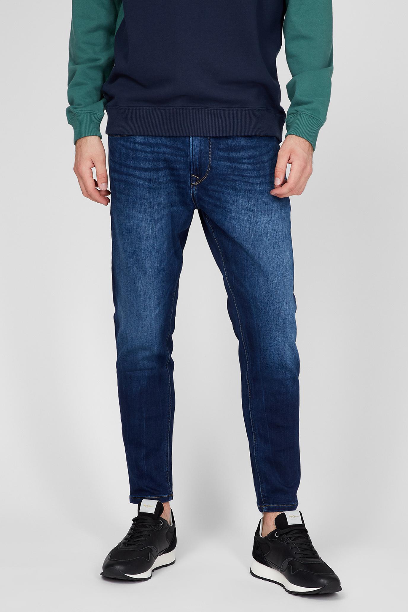 Чоловічі темно-сині джинси JOHNSON 1