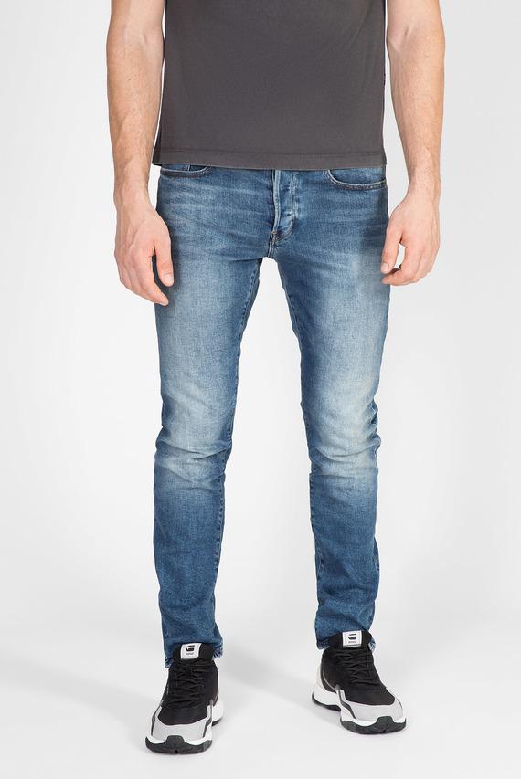 Мужские синие джинсы 3301 Straight Tapered