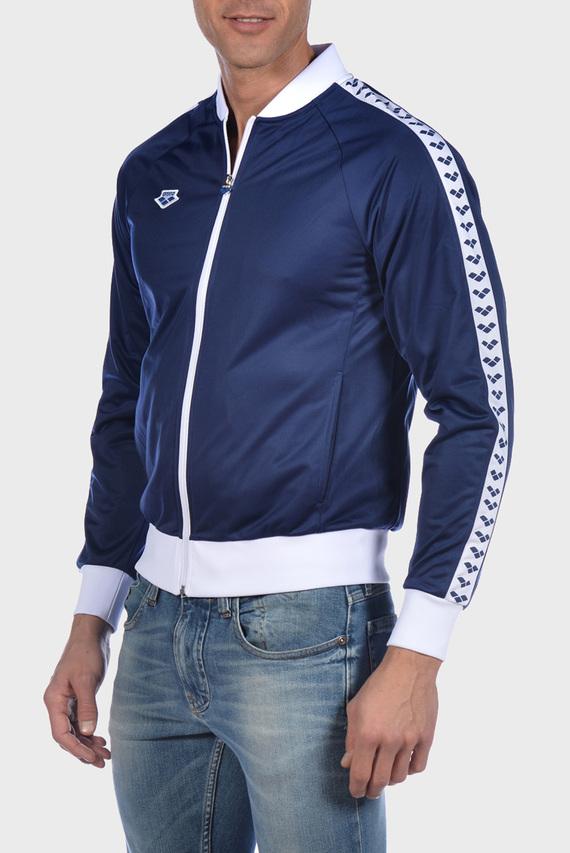 Мужская синяя спортивная кофта