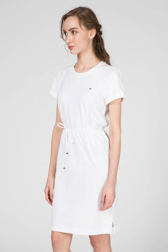 Женское белое платье ANGELA REGULAR C-NK