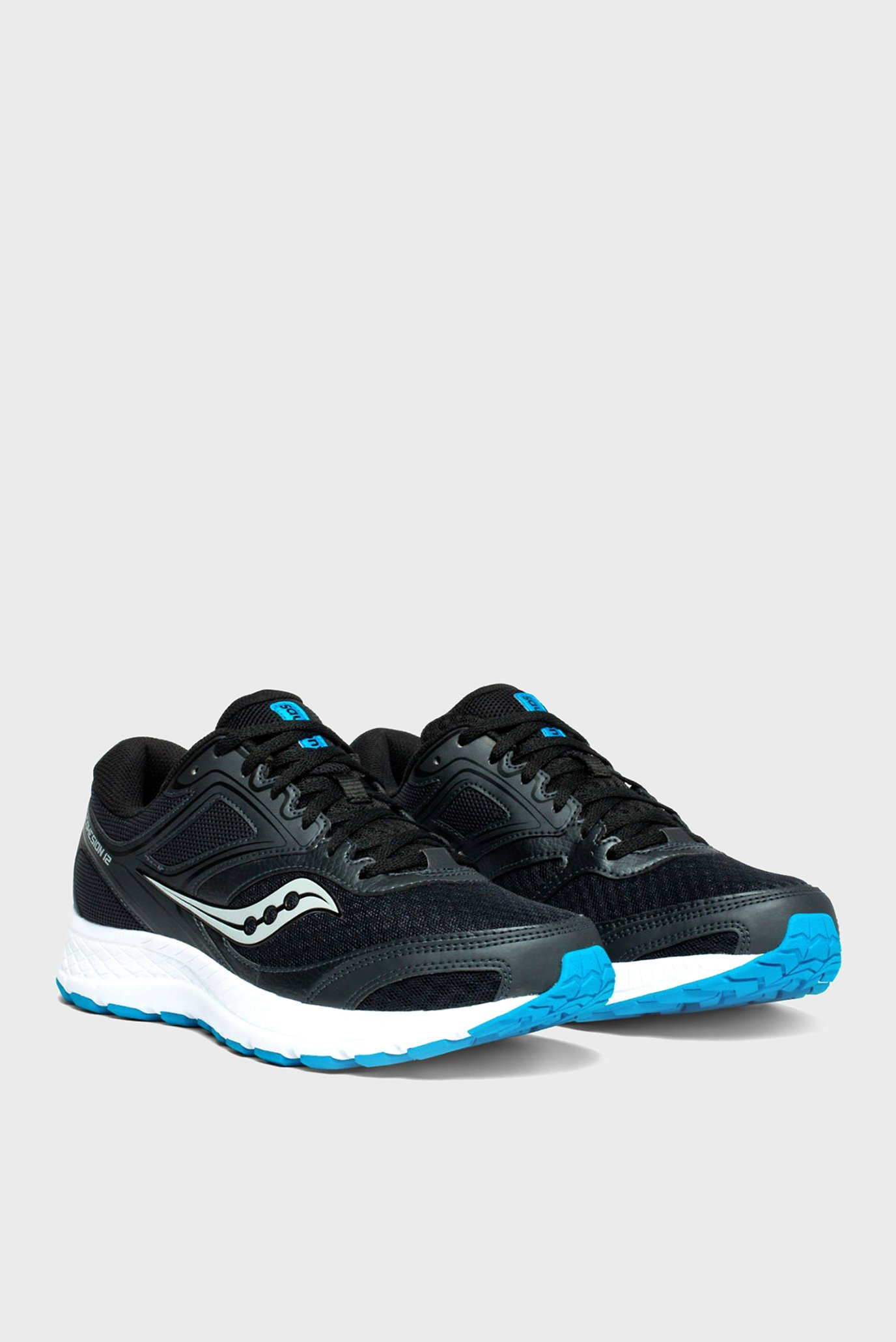 Купить Мужские черные кроссовки COHESION 12 Saucony Saucony 20471-5s – Киев, Украина. Цены в интернет магазине MD Fashion