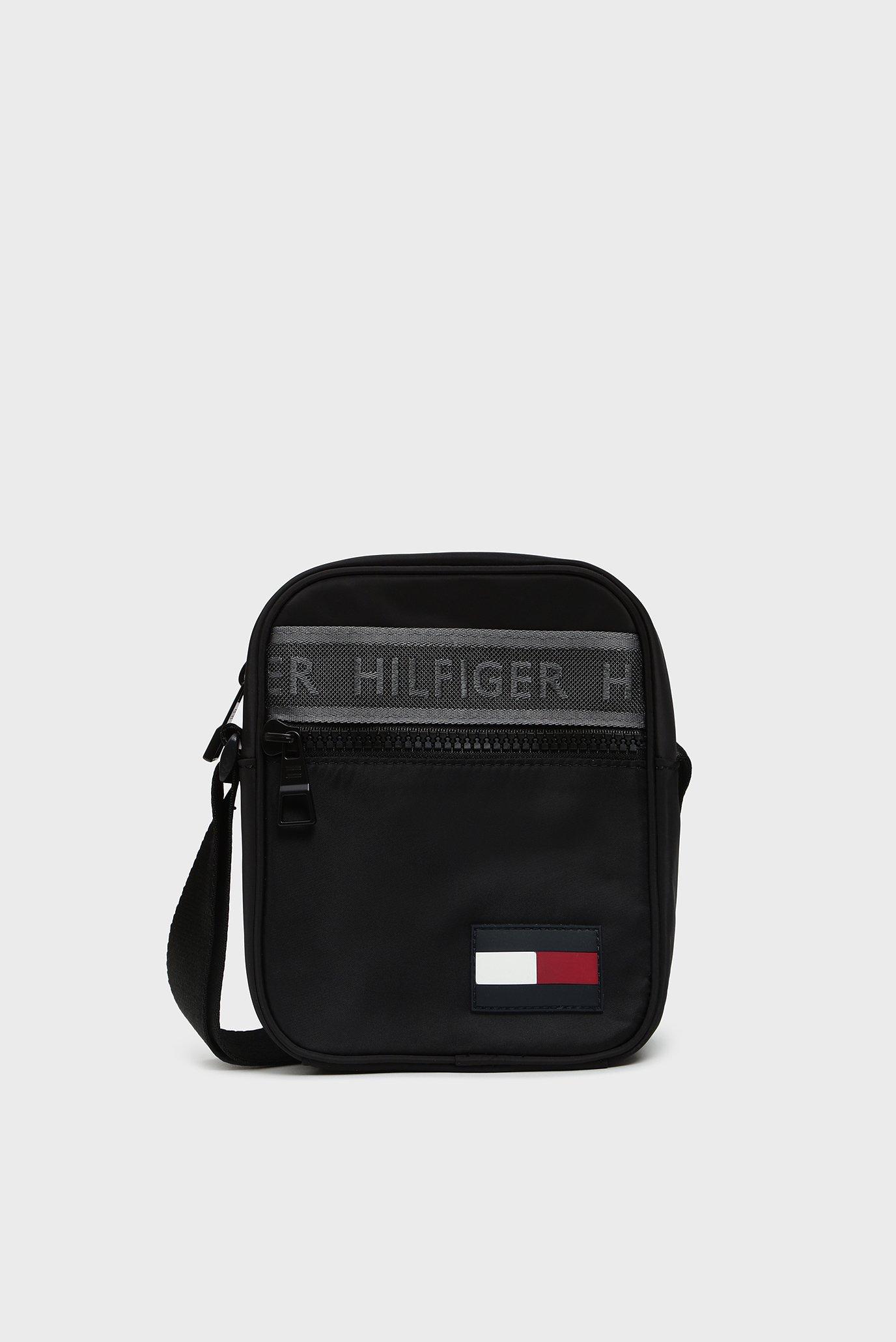 Купить Мужская черная сумка через плечо SPORT MIX MINI Tommy Hilfiger Tommy Hilfiger AM0AM04779 – Киев, Украина. Цены в интернет магазине MD Fashion