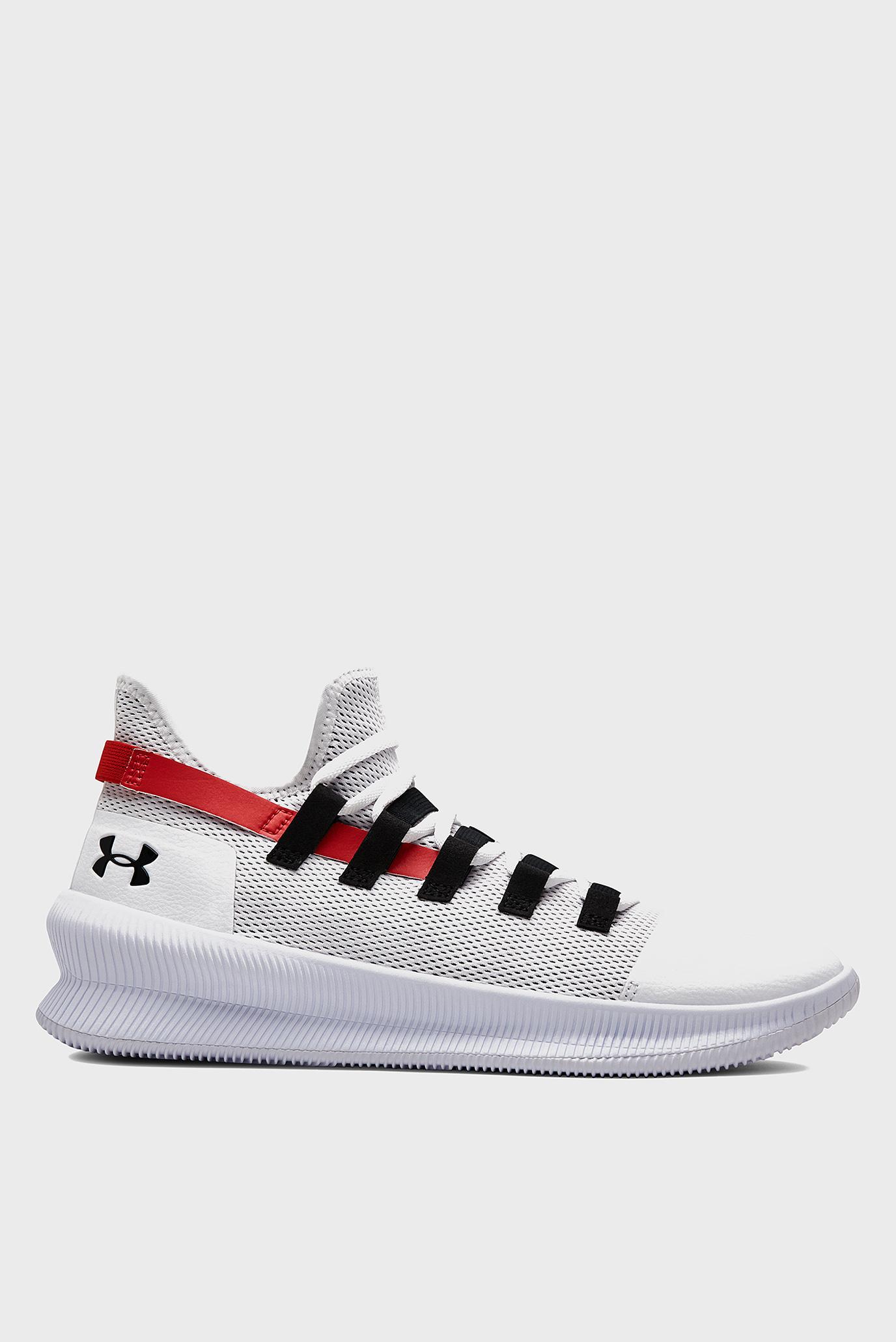 Мужские белые кроссовки для баскетбола UA M-TAG Low Under Armour
