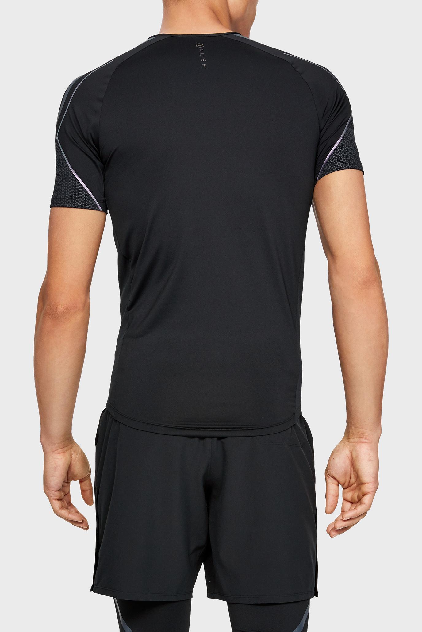 Купить Мужская черная футболка Rush Graphic SS Under Armour Under Armour 1345196-001 – Киев, Украина. Цены в интернет магазине MD Fashion