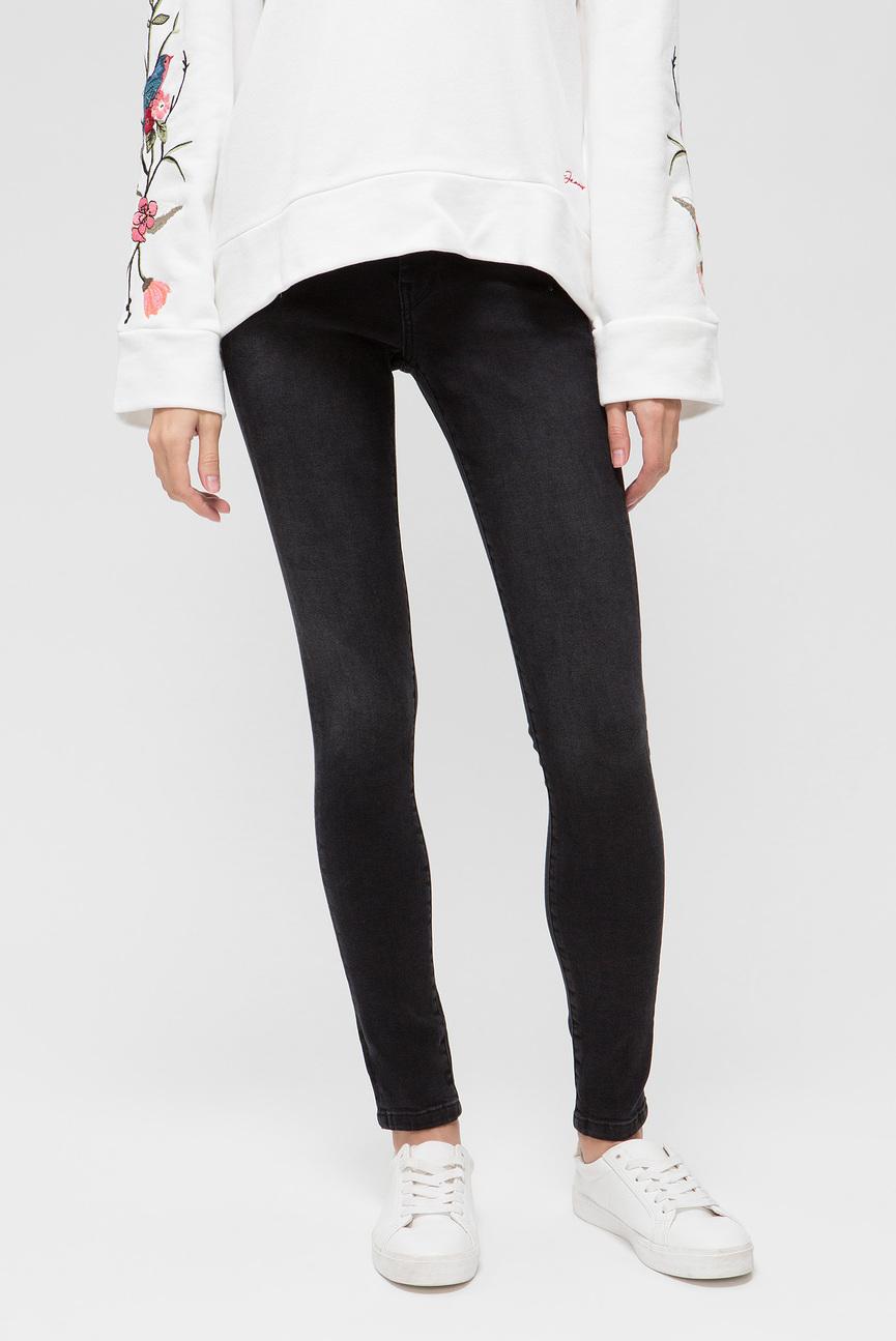 Женские черные джинсы LOLA