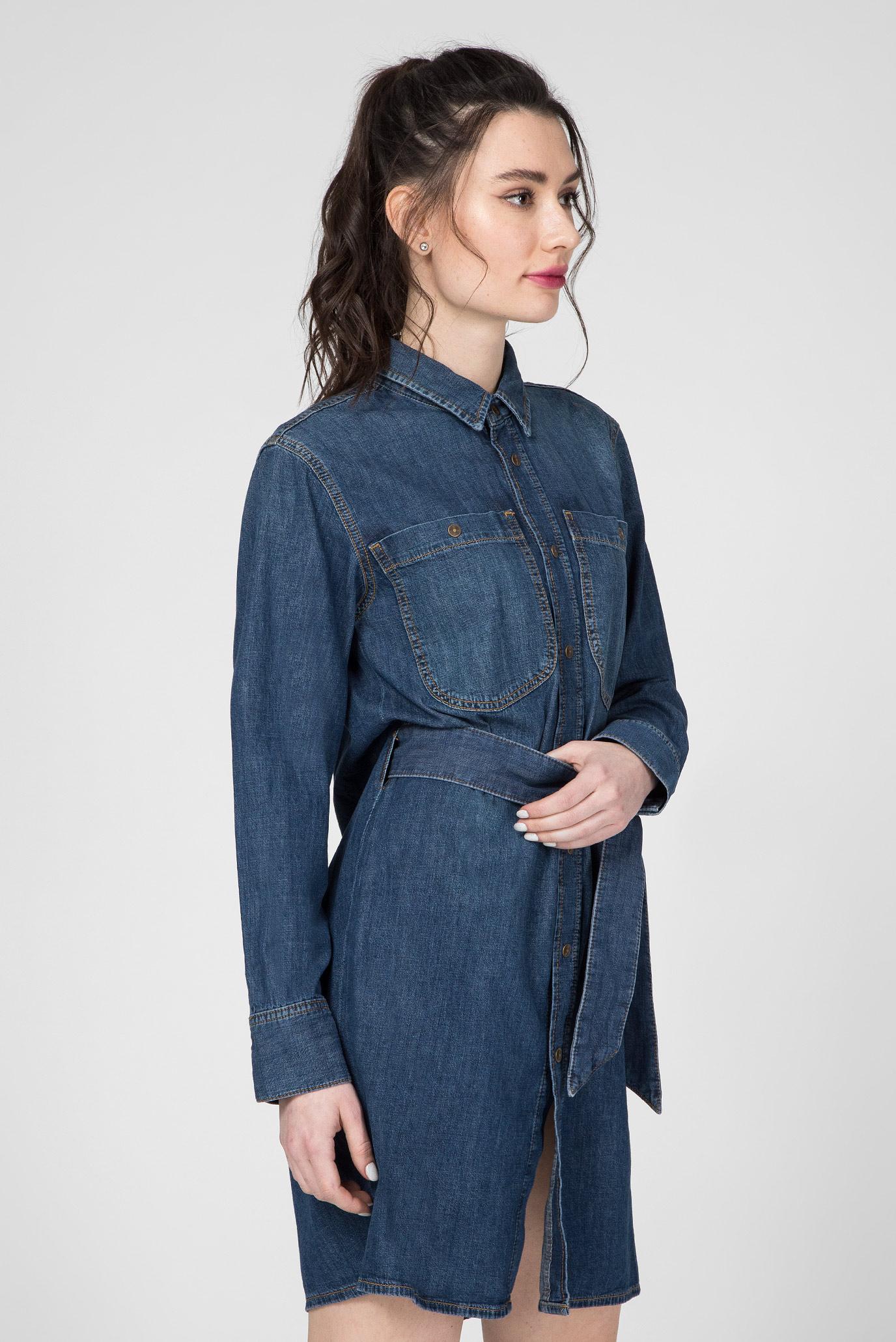 Женское синее джинсовое платье-рубашка DE-BLEU Diesel