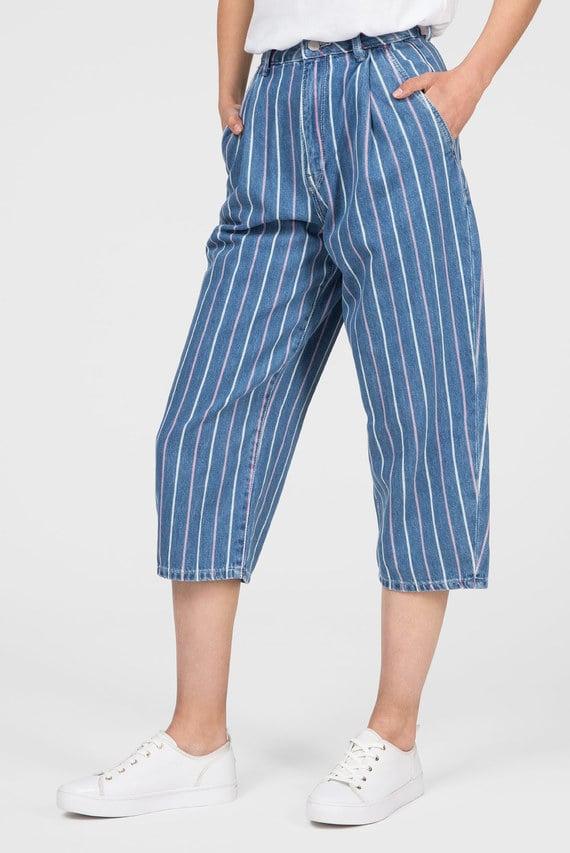Женские синие джинсовые кюлоты AURORA