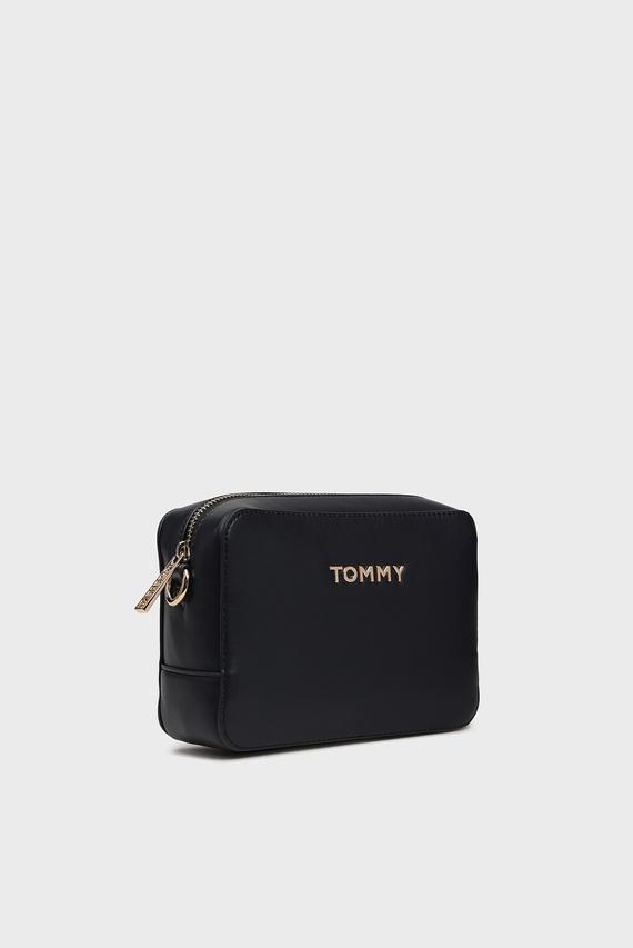 Женская темно-синяя сумка через плечо ICONIC TOMMY CROSSOVER