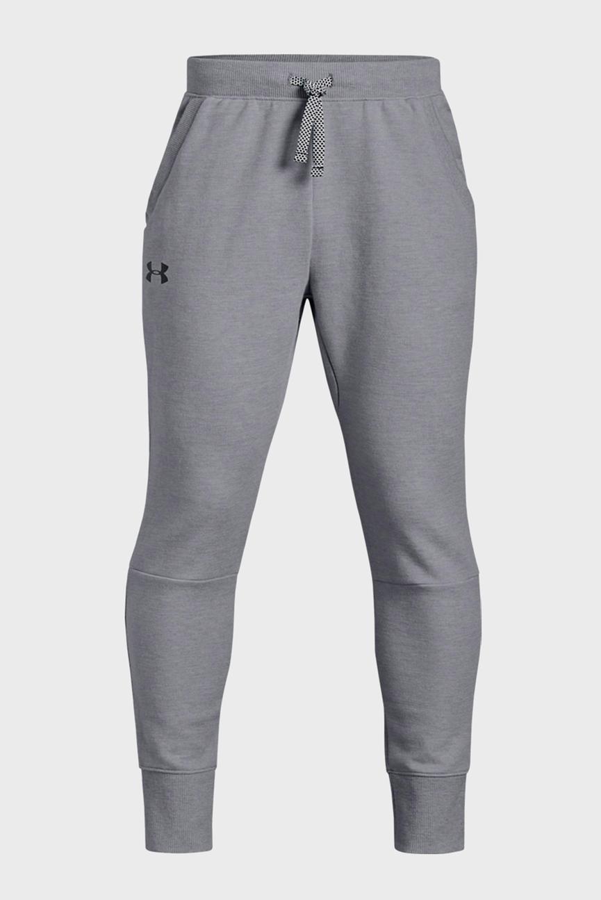 Детские серые спортивные брюки DOUBLE KNIT TAPERED PANT