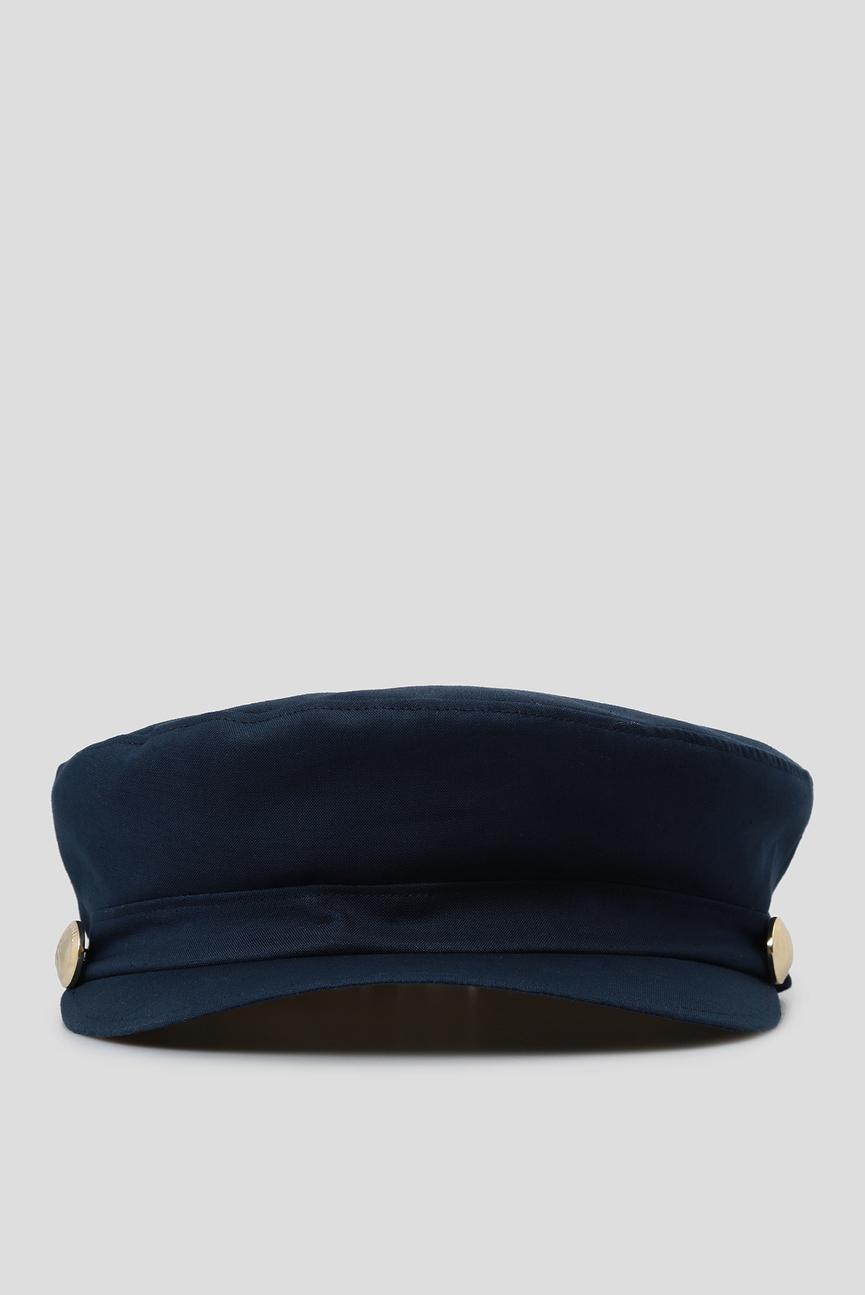 Женское синее кепи