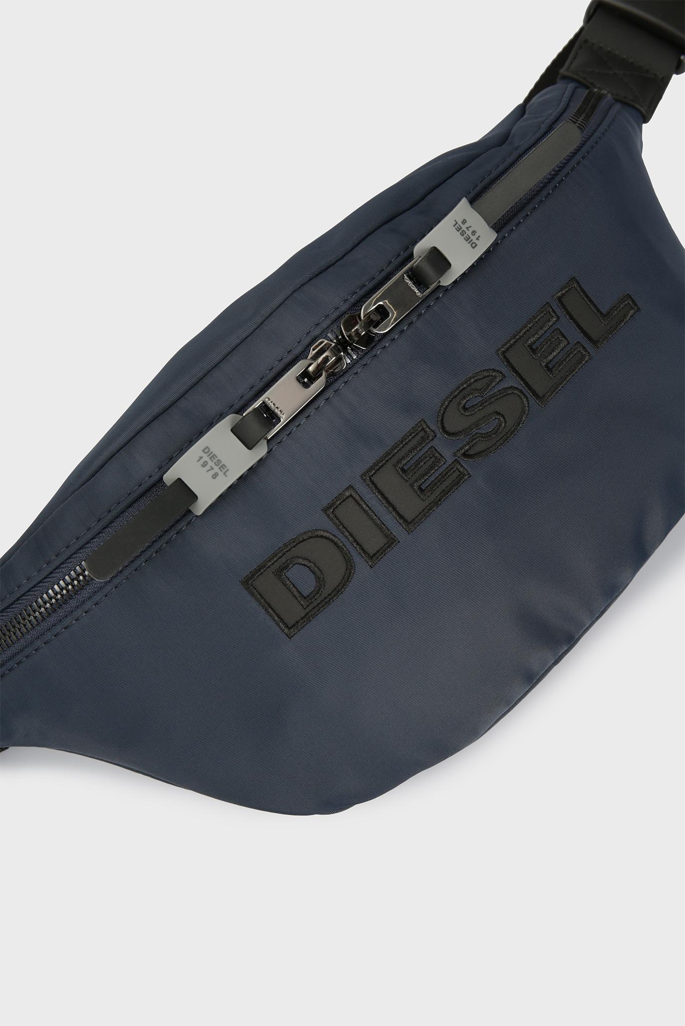 Мужская темно-синяя поясная сумка FELTRE Diesel