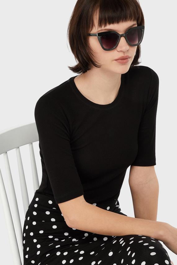 Детские серебристые очки SARAH SQUARE