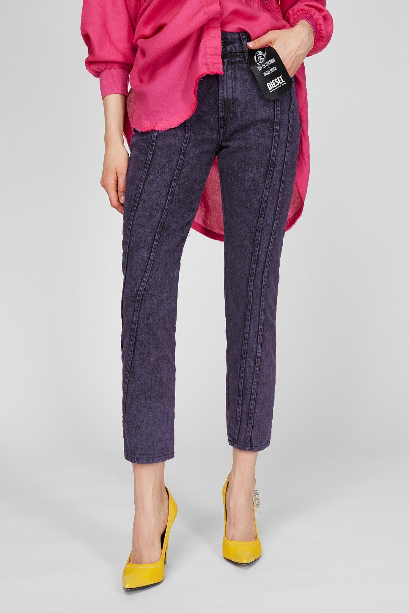 Жіночі фіолетові джинси D-JOY-S-SP 1