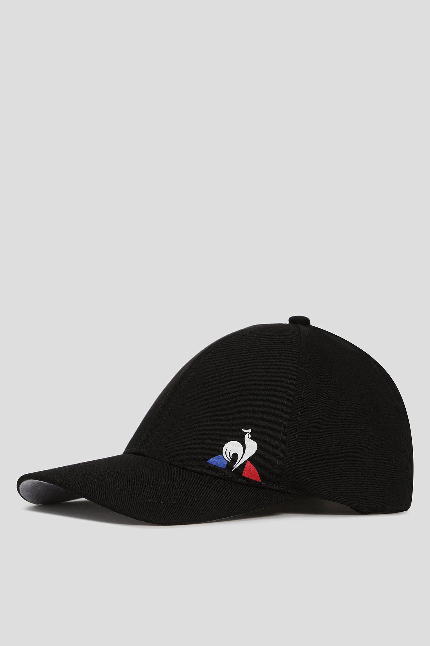 Черная кепка ESS CAP Le Coq Sportif