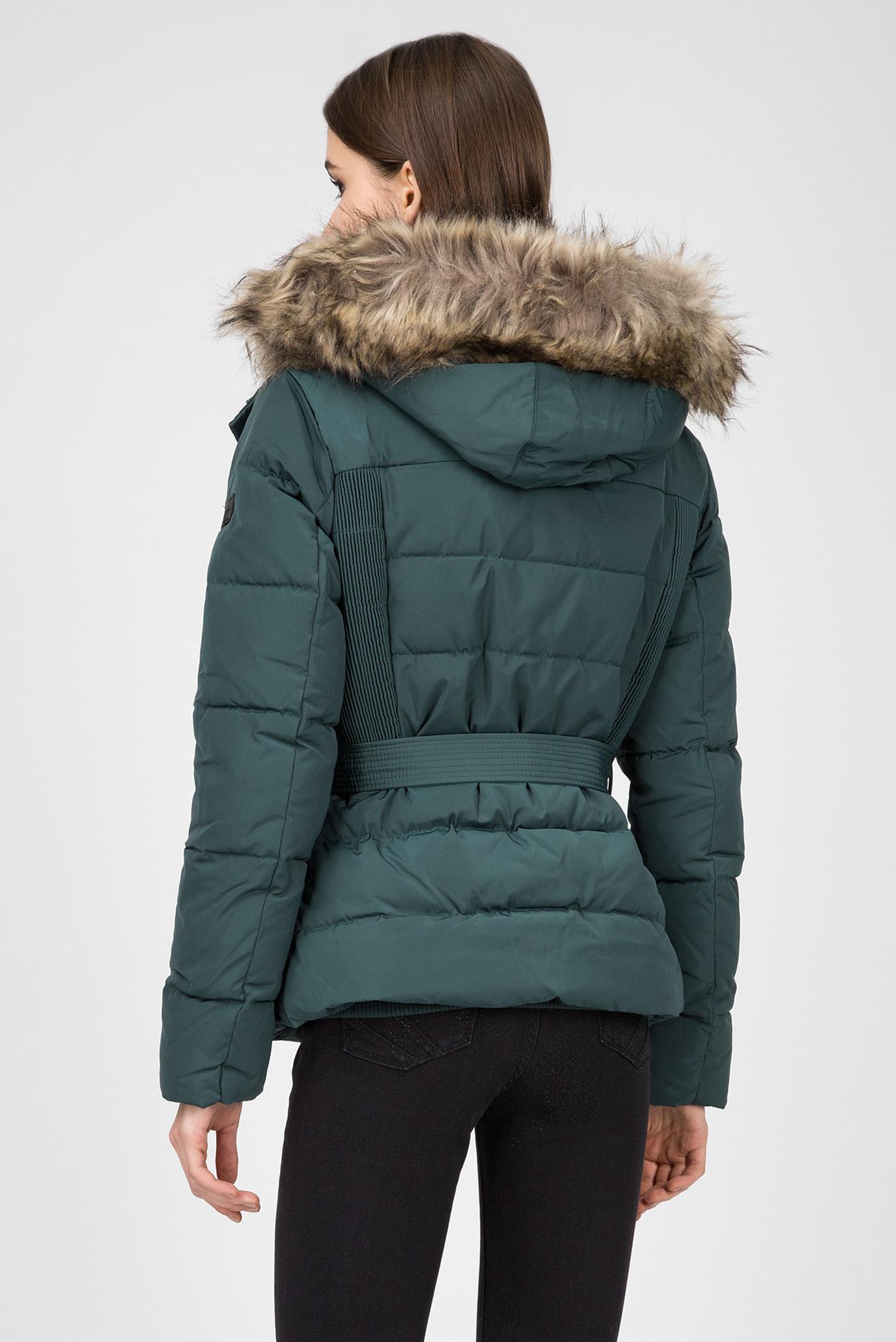 Купить Женский зеленый пуховик OLIVIA Pepe Jeans Pepe Jeans PL401548 – Киев, Украина. Цены в интернет магазине MD Fashion
