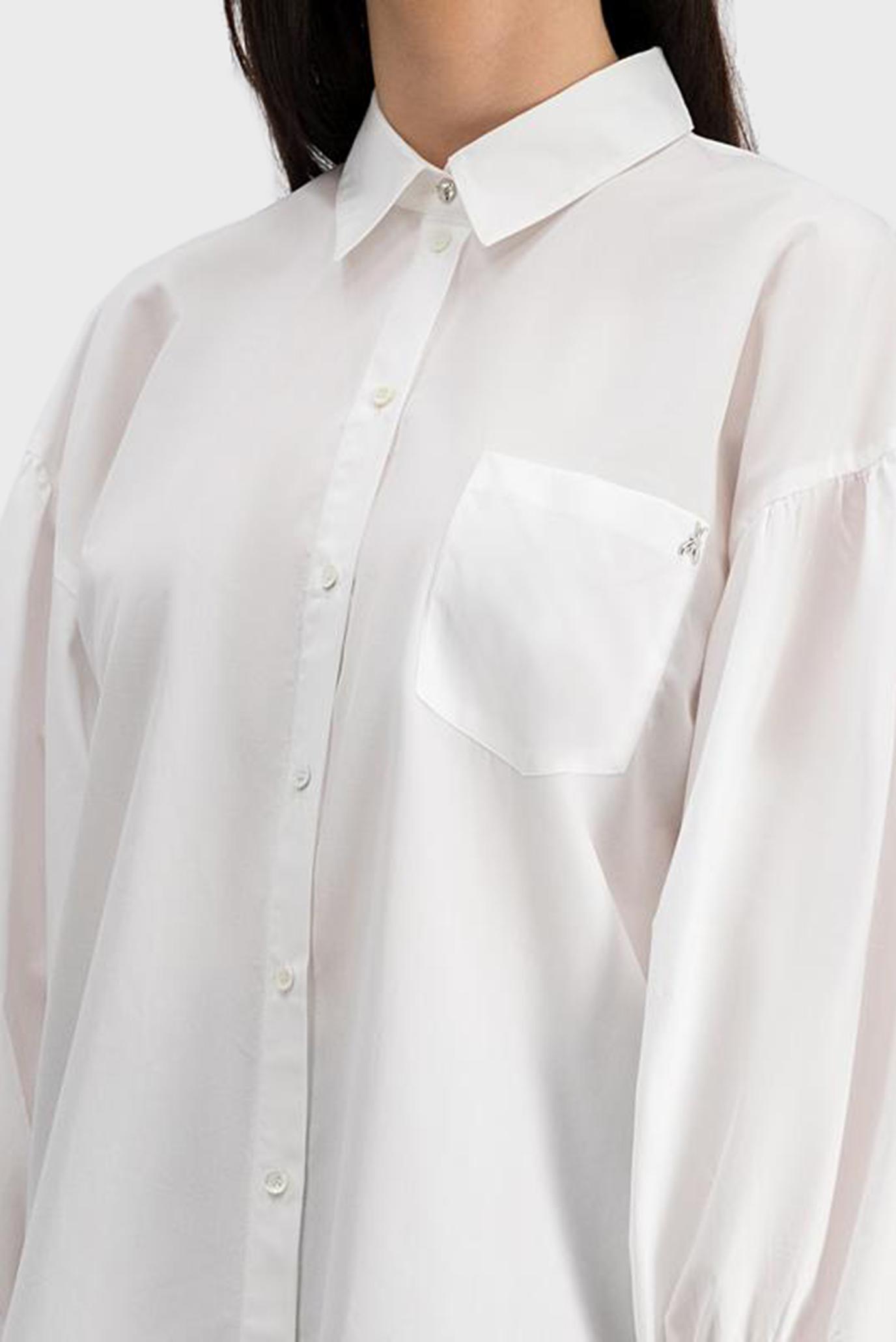 Женская белая рубашка CAMICIA Patrizia Pepe