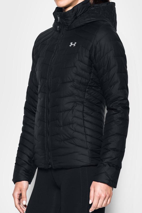 Женская черная куртка UA CGR Hooded Jacket
