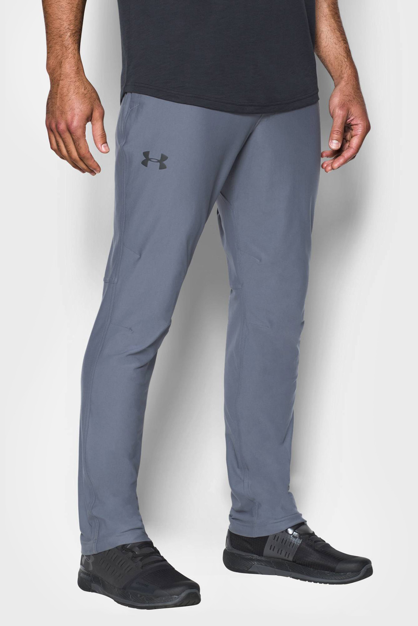 Купить Мужские серые спортивные брюки Elevated Knit Pant Under Armour Under Armour 1290355-962 – Киев, Украина. Цены в интернет магазине MD Fashion