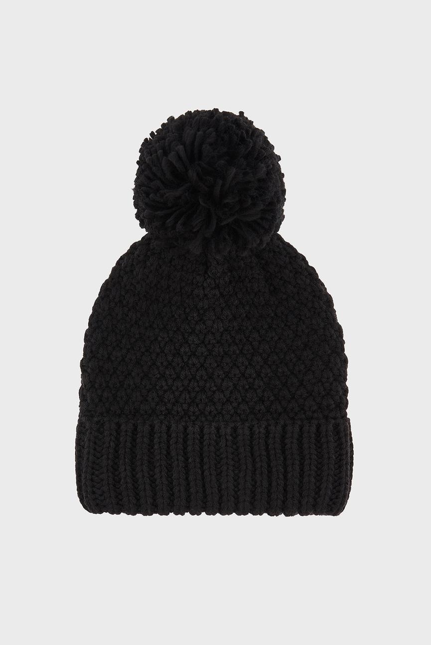 Женская черная шапка OPP BEANIE