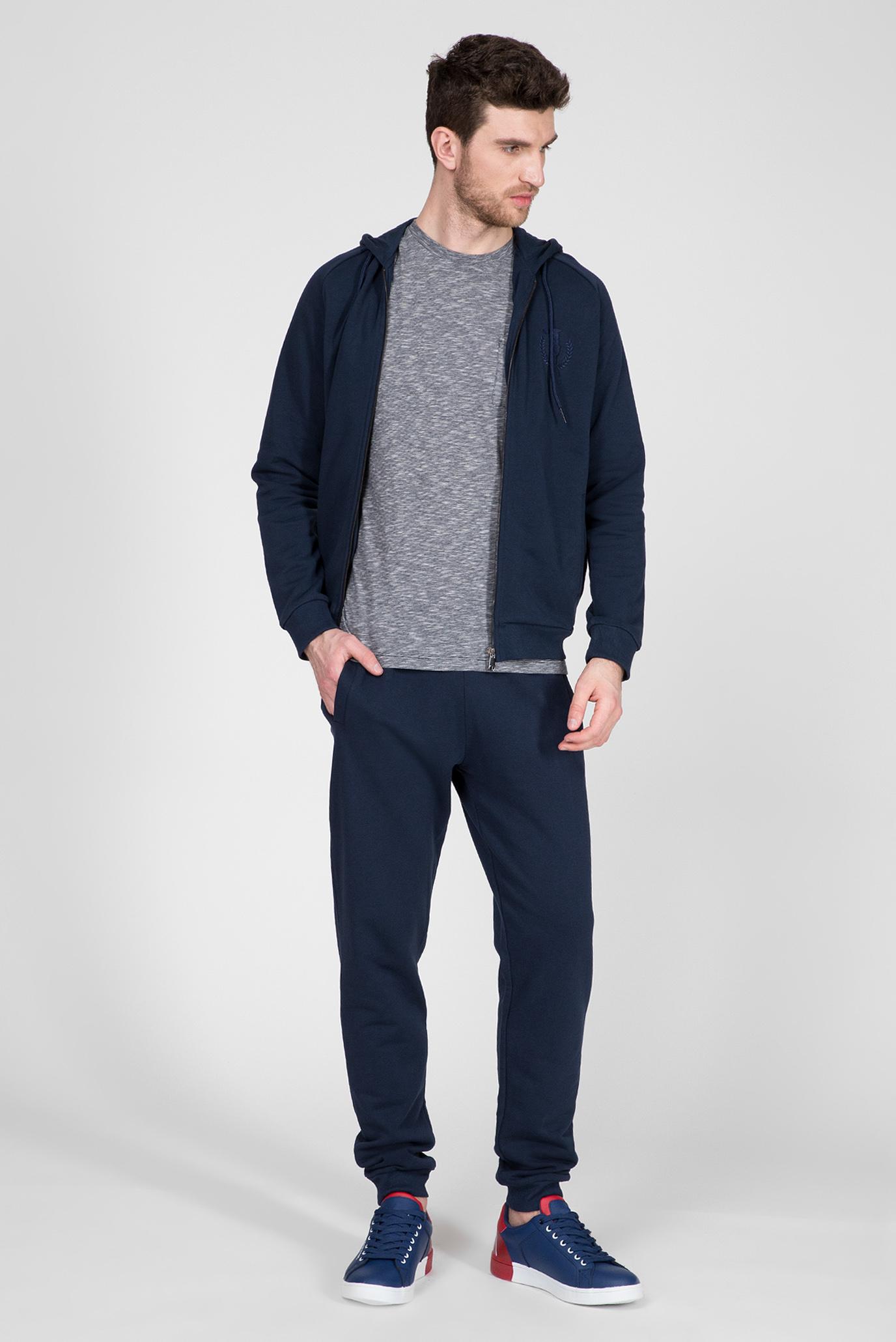 Мужская серая футболка REGULAR FIT Trussardi Jeans