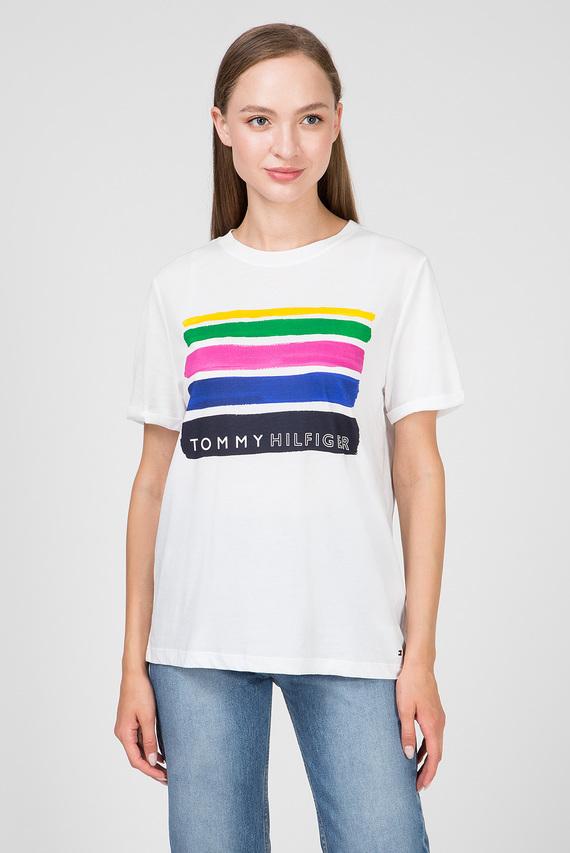 Женская белая футболка BROOKE 901
