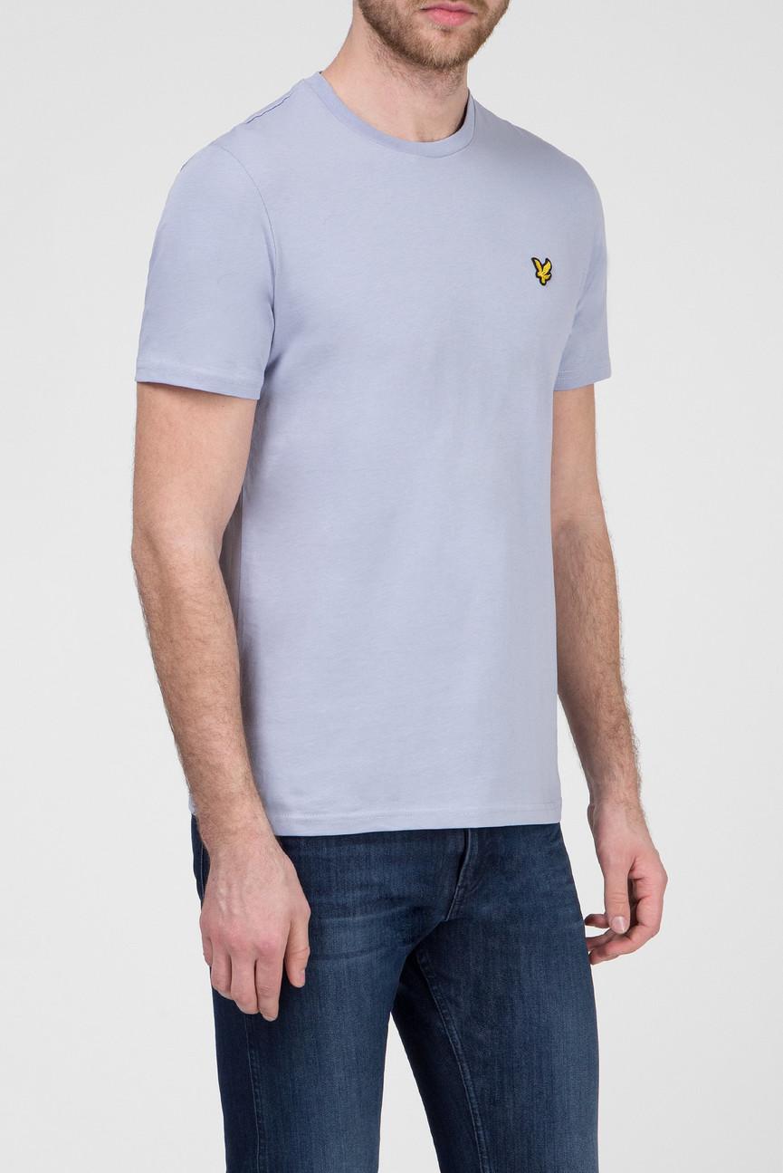 Мужская светло-голубая футболка
