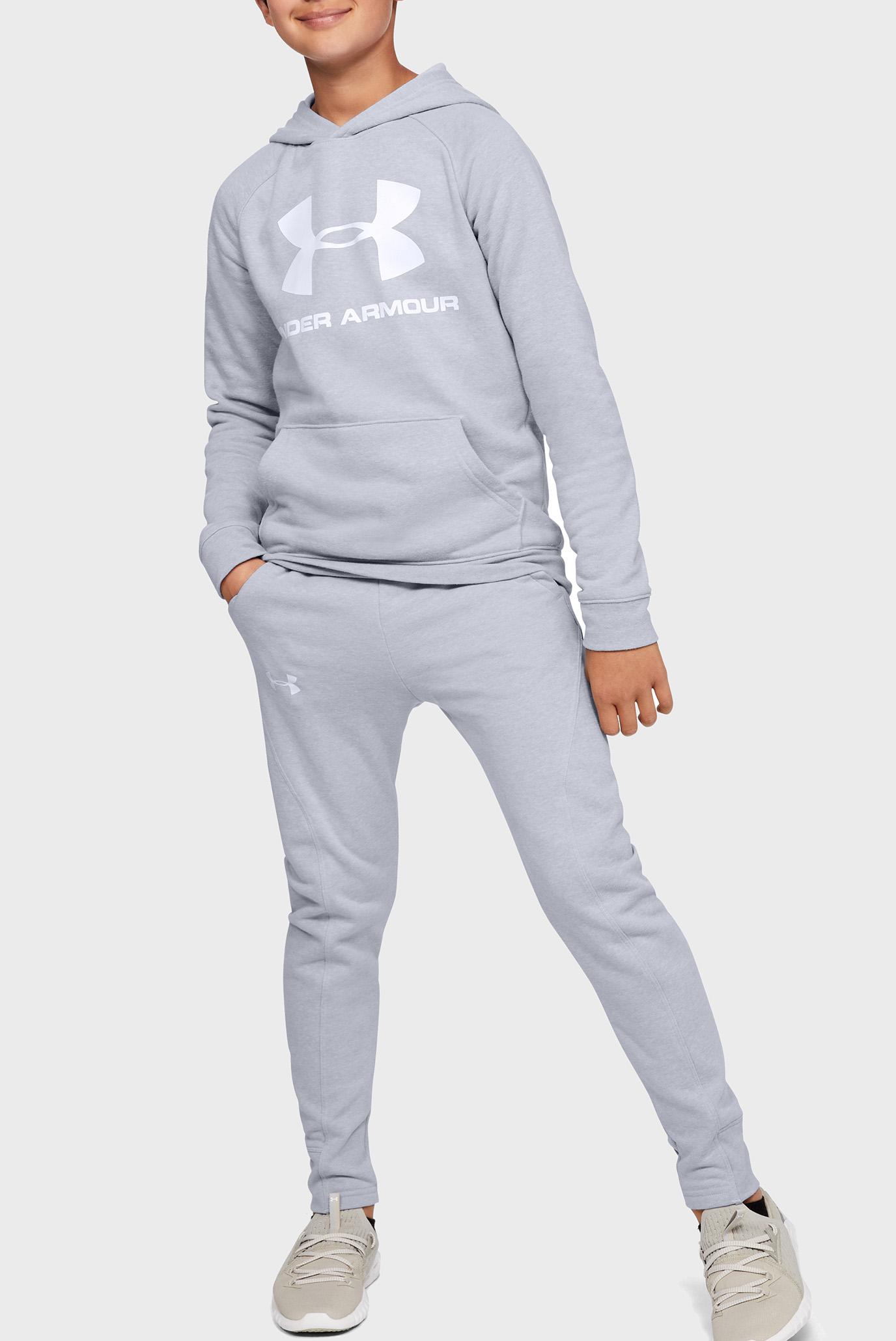 Купить Детское серое худи Rival Logo Hoodie Under Armour Under Armour 1325328-012 – Киев, Украина. Цены в интернет магазине MD Fashion