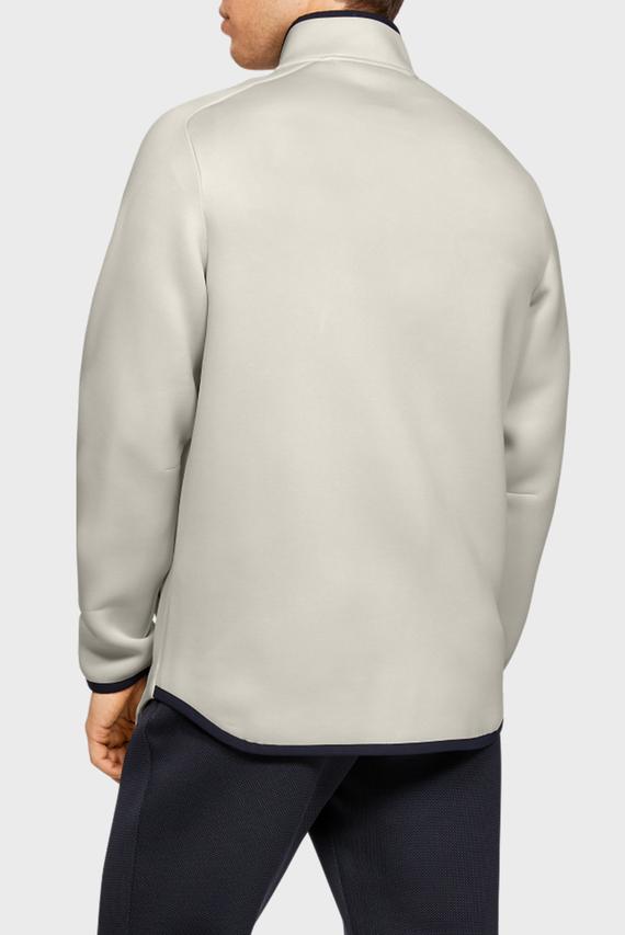 Мужская белая спортивная куртка UA MOVE TRACK JACKET