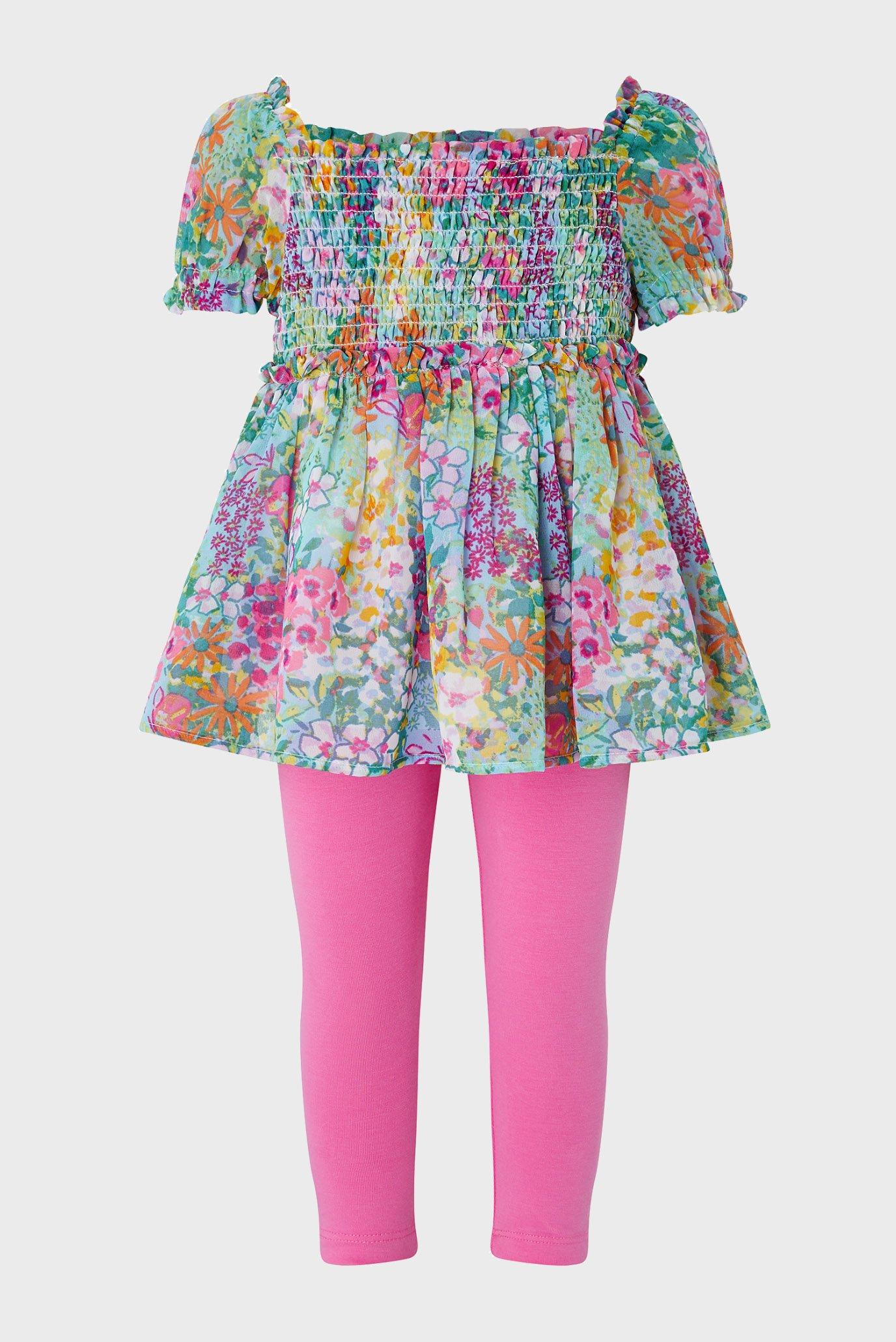 Дитячий комплект одягу S.E.W. BABY FLORAL T (топ, легінси) 1