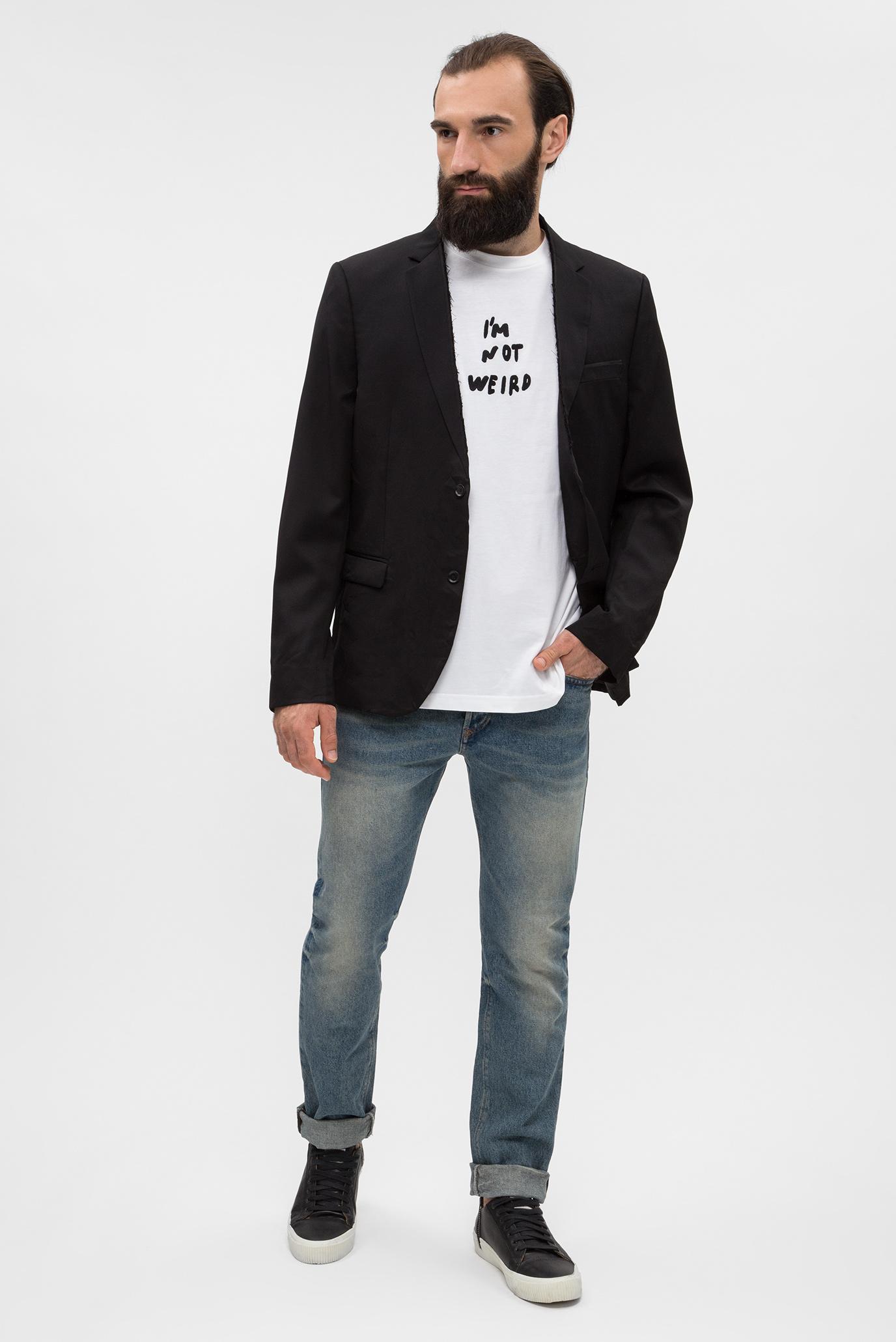 Купить Мужской черный пиджак J-JILL-FRAM GIACCA Diesel Diesel 00SH46 0DATC – Киев, Украина. Цены в интернет магазине MD Fashion