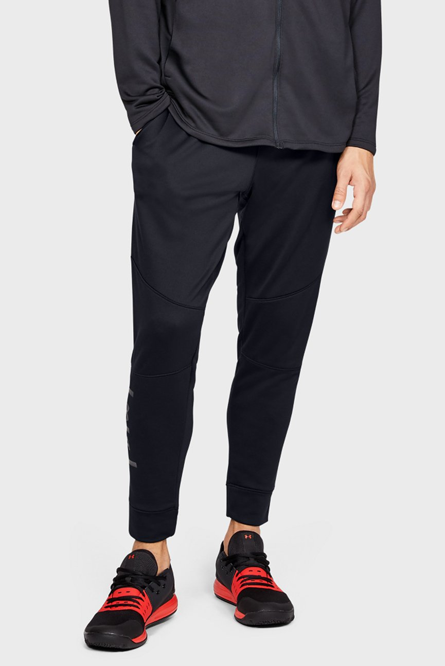 Мужские черные спортивные брюки UA MK-1 Terry Joggers