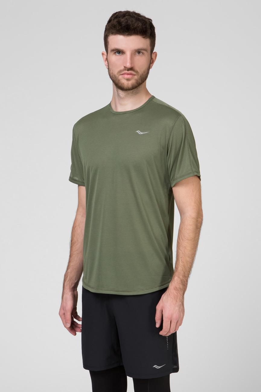 Мужская оливковая футболка HYDRALITE