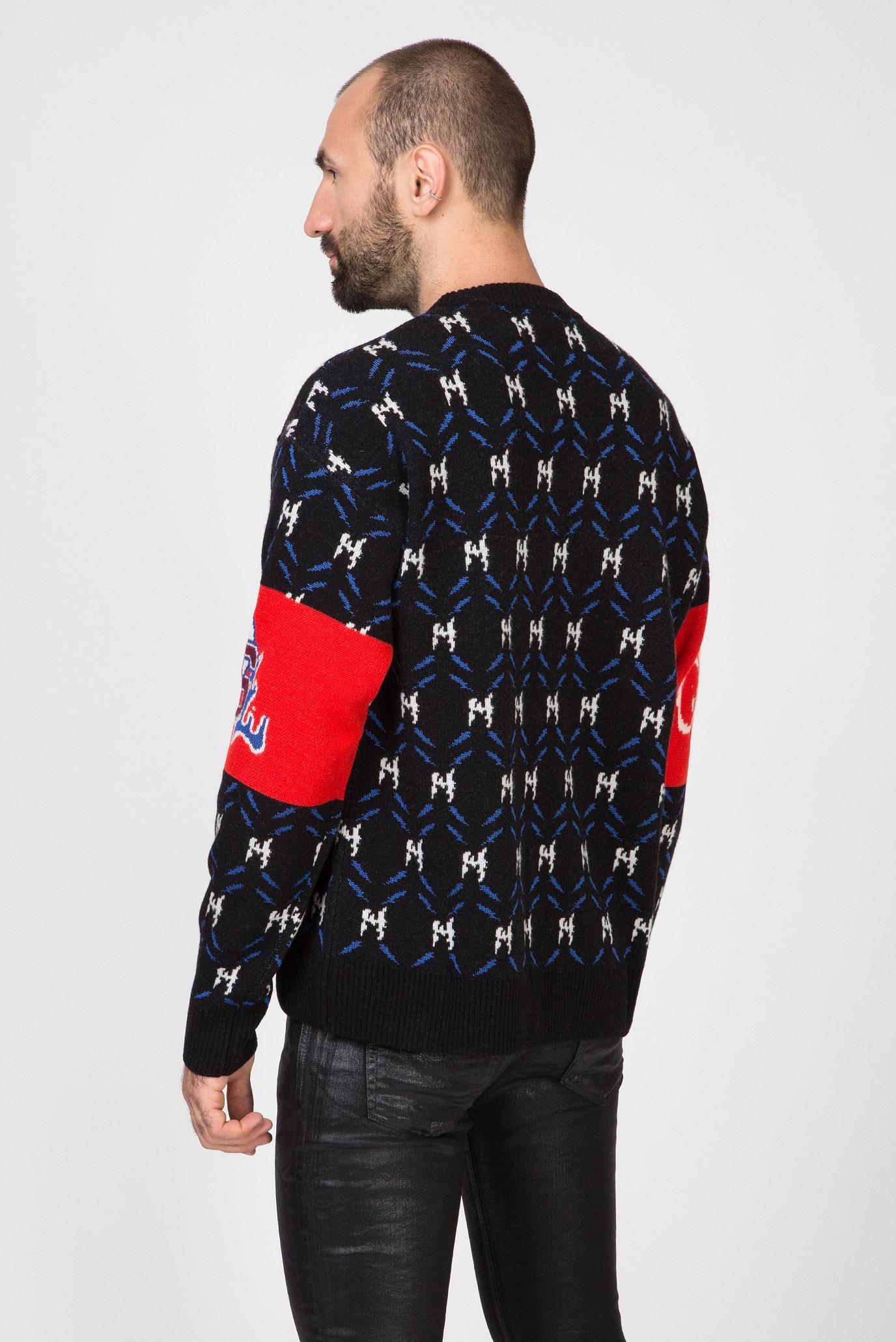 Мужской свитер с узором K-SUP Diesel