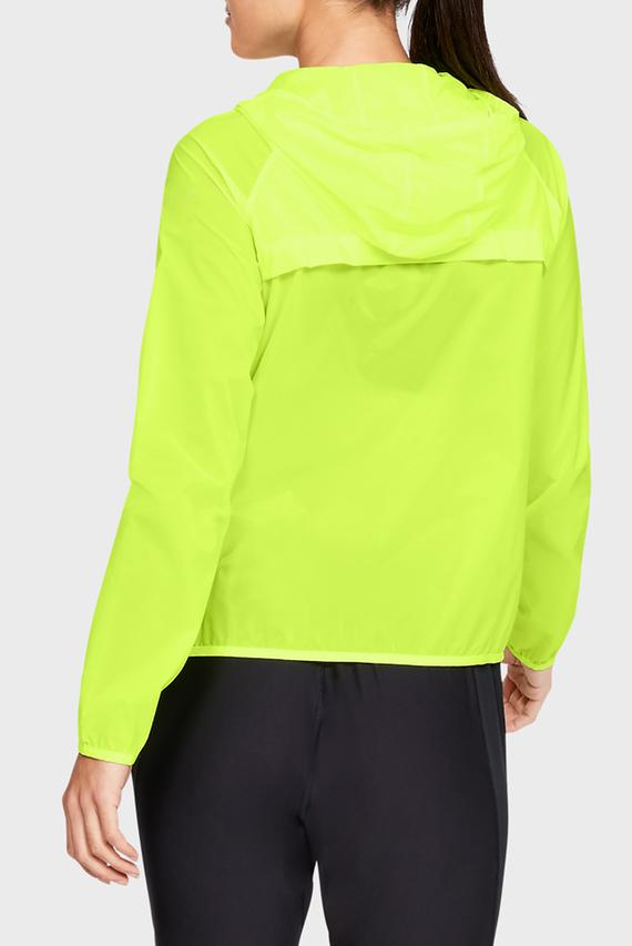 Женская желтая ветровка UA Storm Qualifier Packable Jacket