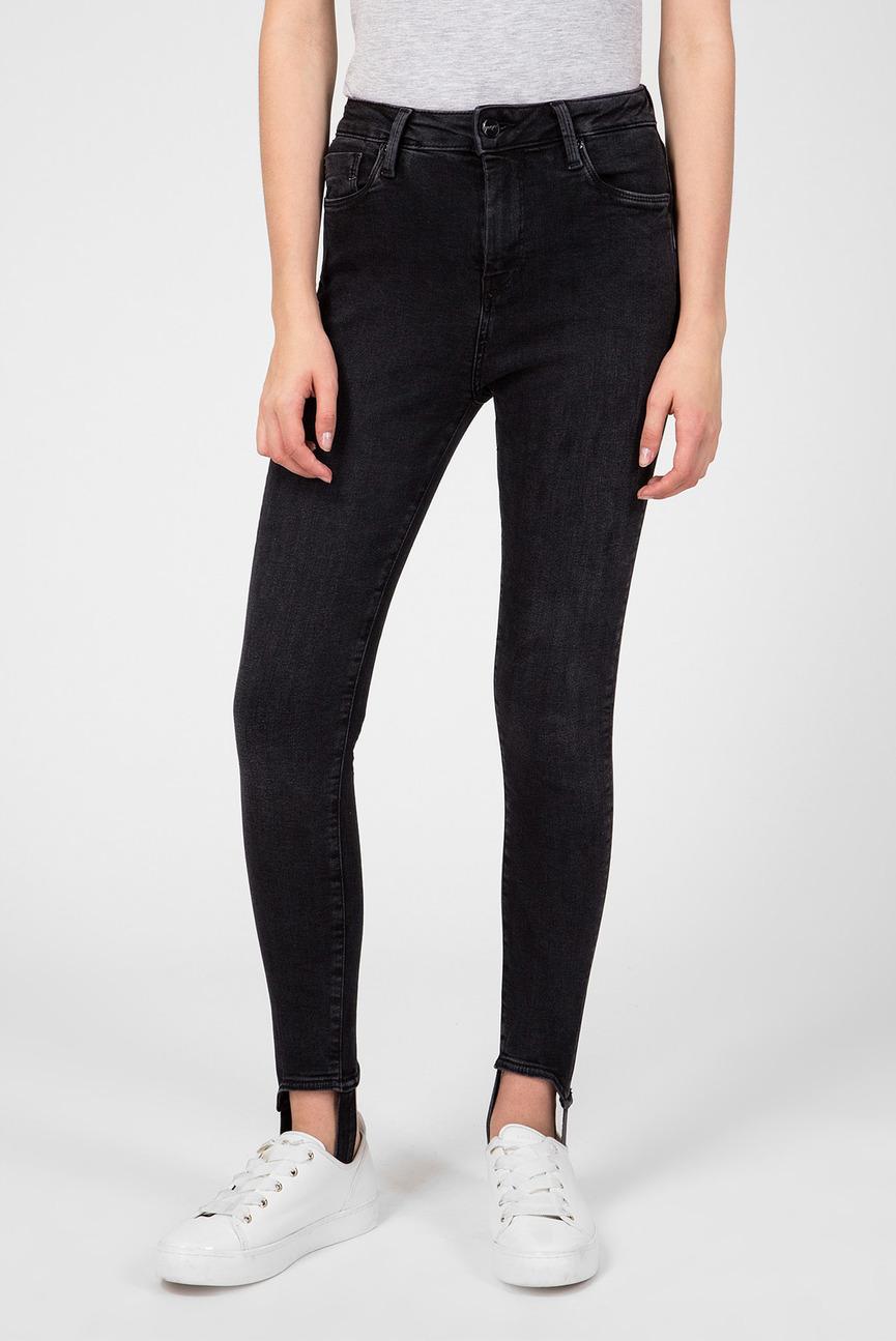 Женские черные джинсы Dion Stirrup