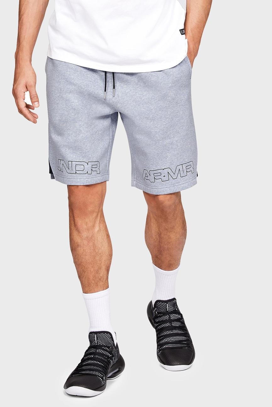 Мужские серые шорты BASELINE GRAPHIC FLC SHORT