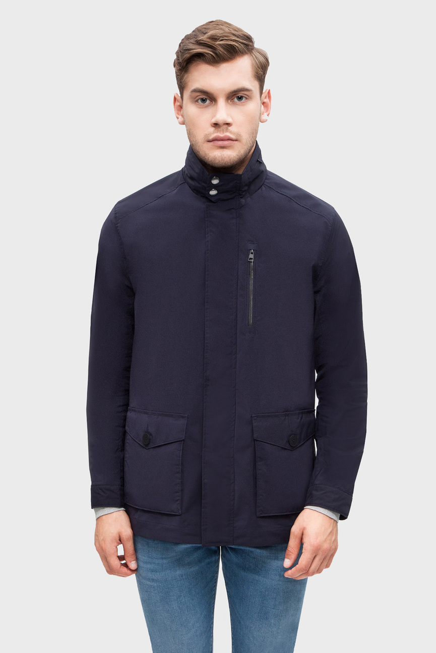 Мужская темно-синяя куртка THE GREENFIELD JACKET