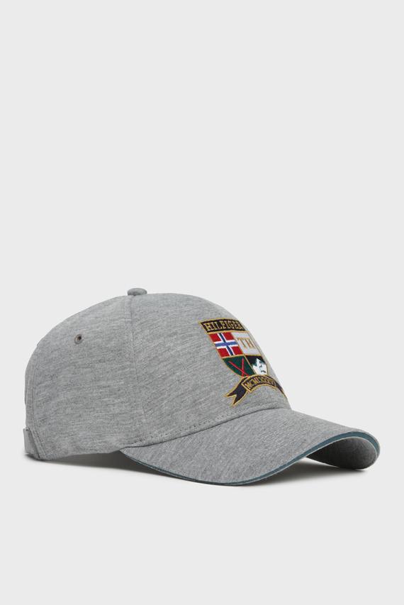 Мужская серая кепка CREST
