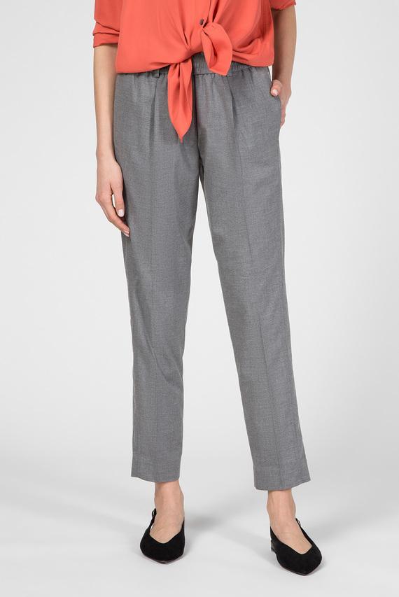 Женские серые брюки FLANNEL TAILORED