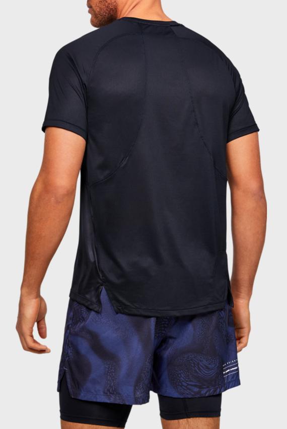 Мужская черная спортивная футболка UA M Qualifier ISO