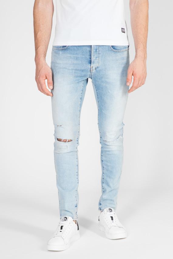 Мужские голубые джинсы 3301 Slim