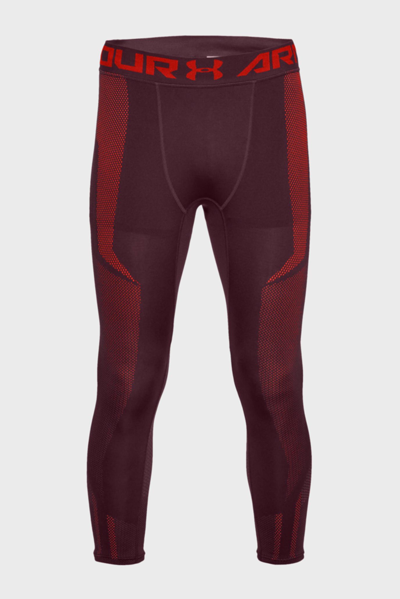 Купить Мужские бордовые тайтсы Threadborne Seamless 3/4 Leg Under Armour Under Armour 1306391-600 – Киев, Украина. Цены в интернет магазине MD Fashion