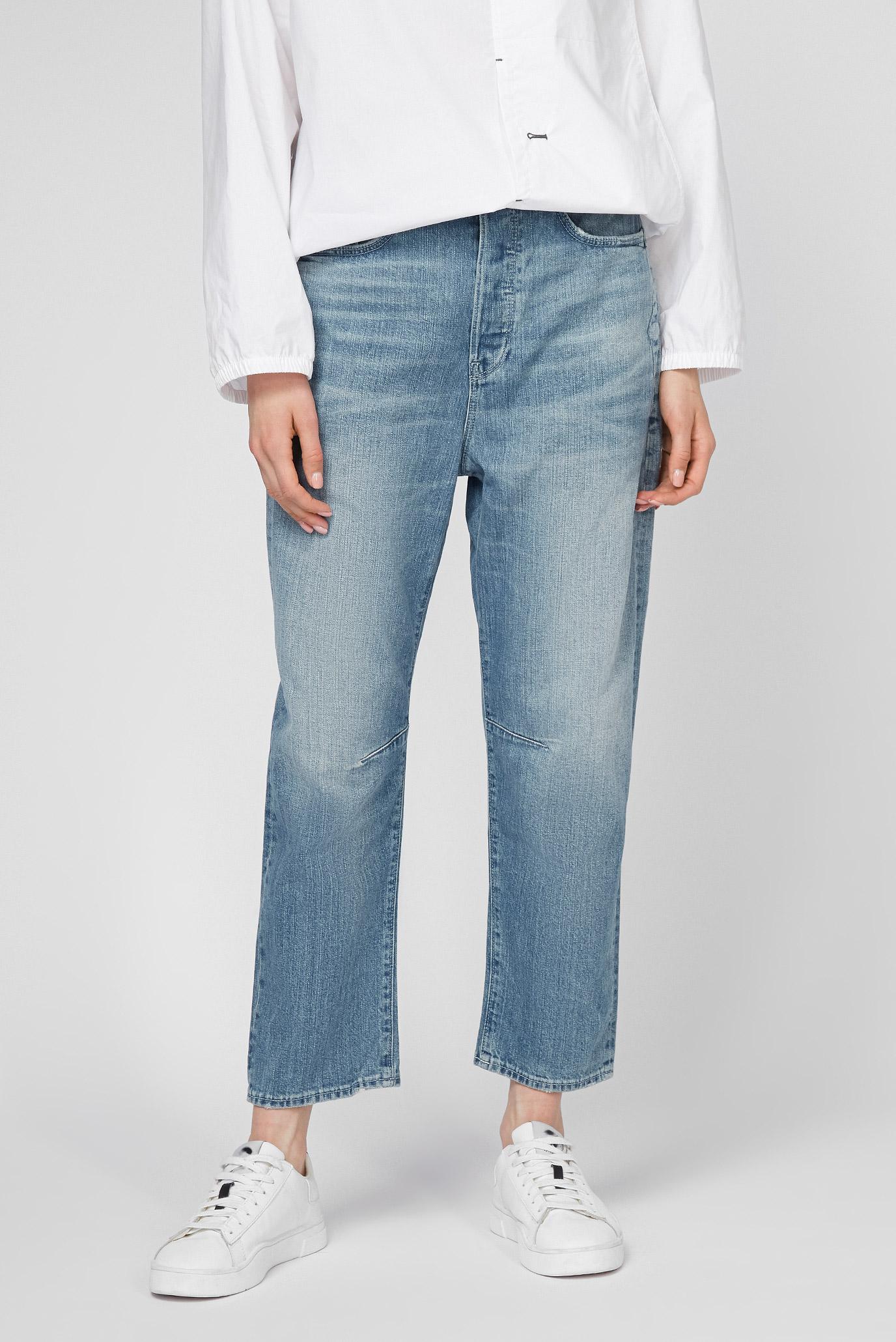 Женские голубые джинсы C-Staq 3D Boyfriend Crop 1